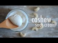 Vegan Cashew Sour Cream Recipe