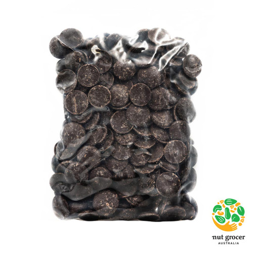 Organic Belgian 58% Dark Chocolate Buttons