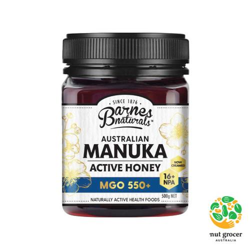 Manuka Honey MGO 500+ Barnes Naturals