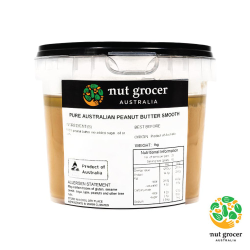 Pure Australian Peanut Butter Smooth