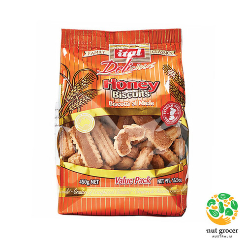 Honey Biscuits (Biscotti al Miele)