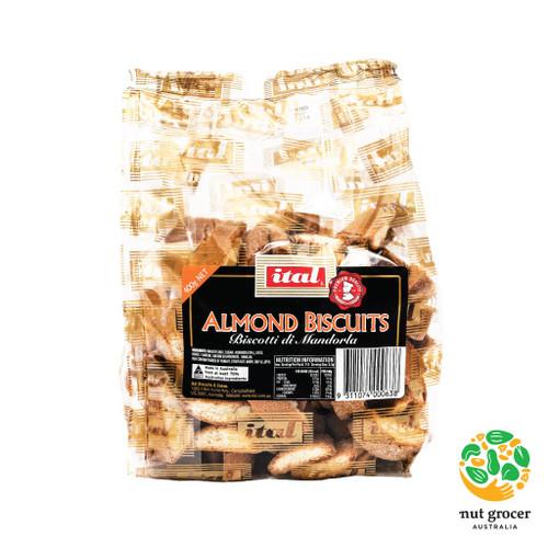 Almond Biscotti (Biscotti di Mandorla)