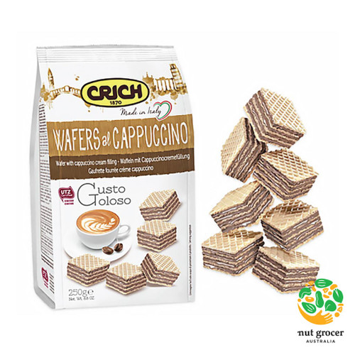 Crich Cappuccino Wafers