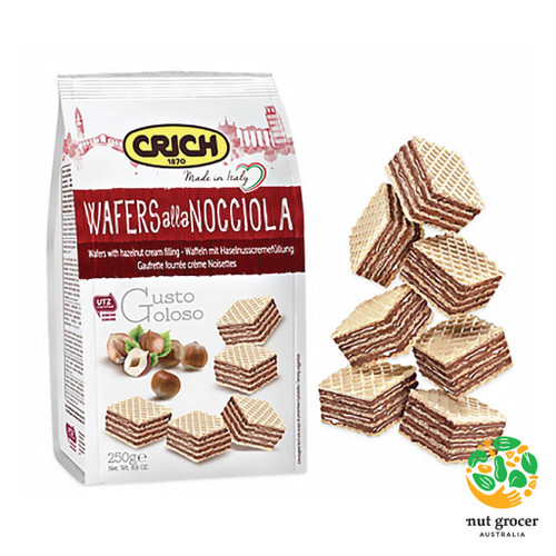 Crich Hazelnut Wafers