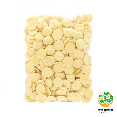 Premium Belgian 30% White Chocolate Buttons