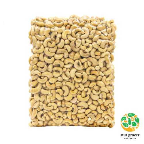 Organic Premium Brazilian Cashews Raw WW Medium Kernels