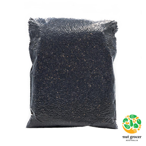 Organic Black Sesame Seeds Toasted