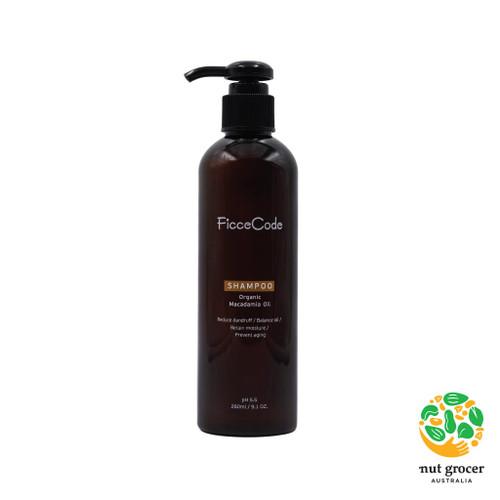 FicceCode Macadamia Oil Shampoo 260ml