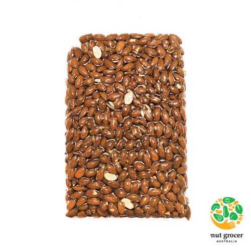 Almonds Carmel Dry Roasted & Unsalted Insecticide Free