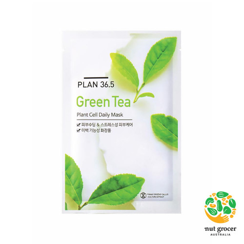 PLAN36.5 Plant Cell Daily Mask Green Tea