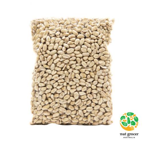 Organic Peanuts Raw Blanched