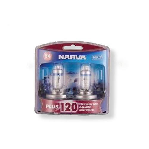 Narva Halogen H4 120 Plus Globes