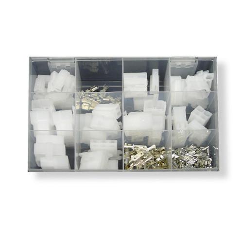 Housing Connector Assortment Kit QK Series - White