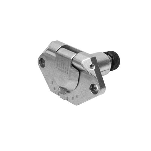 7 Pin Metal Small Round Trailer Socket
