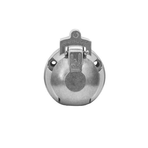 7 Pin Metal Large Round Trailer Socket