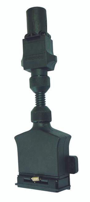 7 Pin Small Round to 7 Pin Flat Adaptor