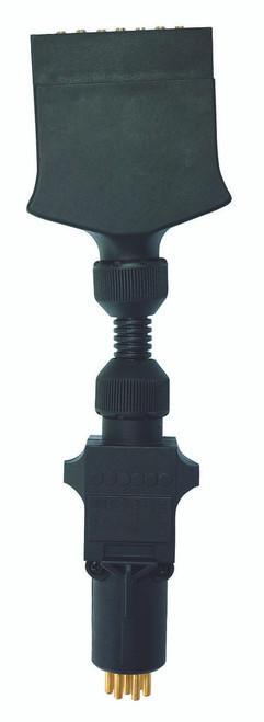 7 Pin Flat to 7 Pin Small Round Adaptor