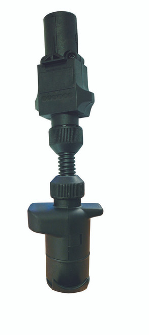 7 Pin Small Round to 7 Pin Large Round Adaptor