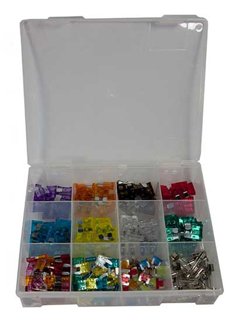 Assorted Fuse Kt - 190 pce