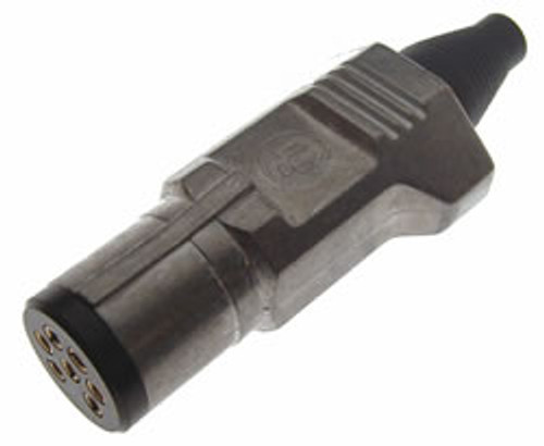 Utilux H40907 7 Pin Metal Small Round Trailer Lug