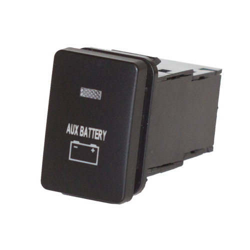 Small Aux Battery Switch to Suit Toyota Prado 150 & 200 Series - Blank