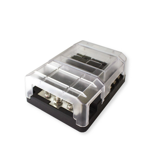 LED Fuse Box 6 Gang With Negative Bus
