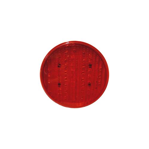 10-30V LED STOP/TAIL 4'' ROUND GROMMET & PLUG
