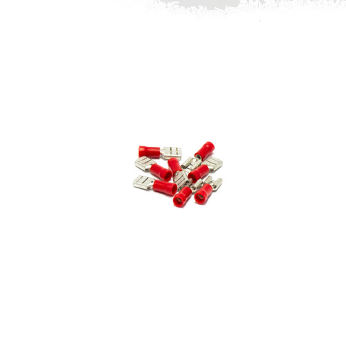 Quick Connector Terminals (Female), RED