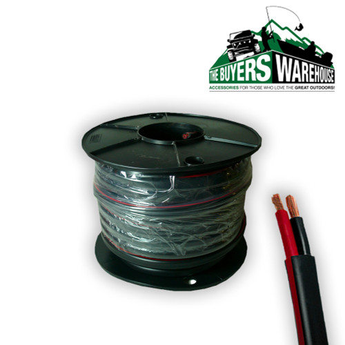 3mm Twin Core Cable, 30M Roll