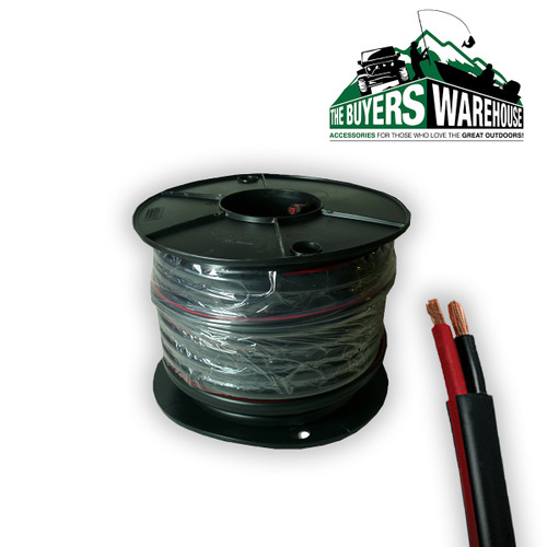 4mm Twin Core Cable, 30M Roll