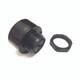 6V - 2V Piezo Buzzer Alarm Continuous Sound + Slow Pulse Surface Mount 90 DB