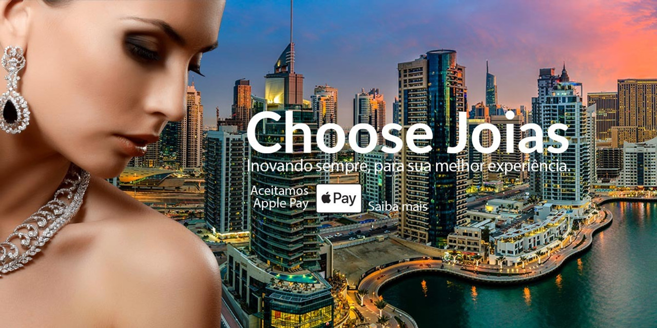 Joalheria online com Apple Pay - Choose Joias - Inovação