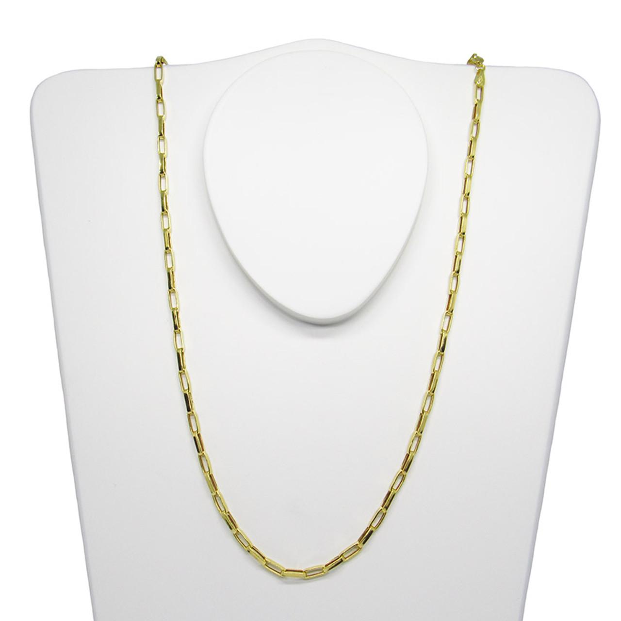 abf77c9eb6cff Corrente de ouro 18k cartier alongada 2.85mm com 70cm (CJCO-00000720)