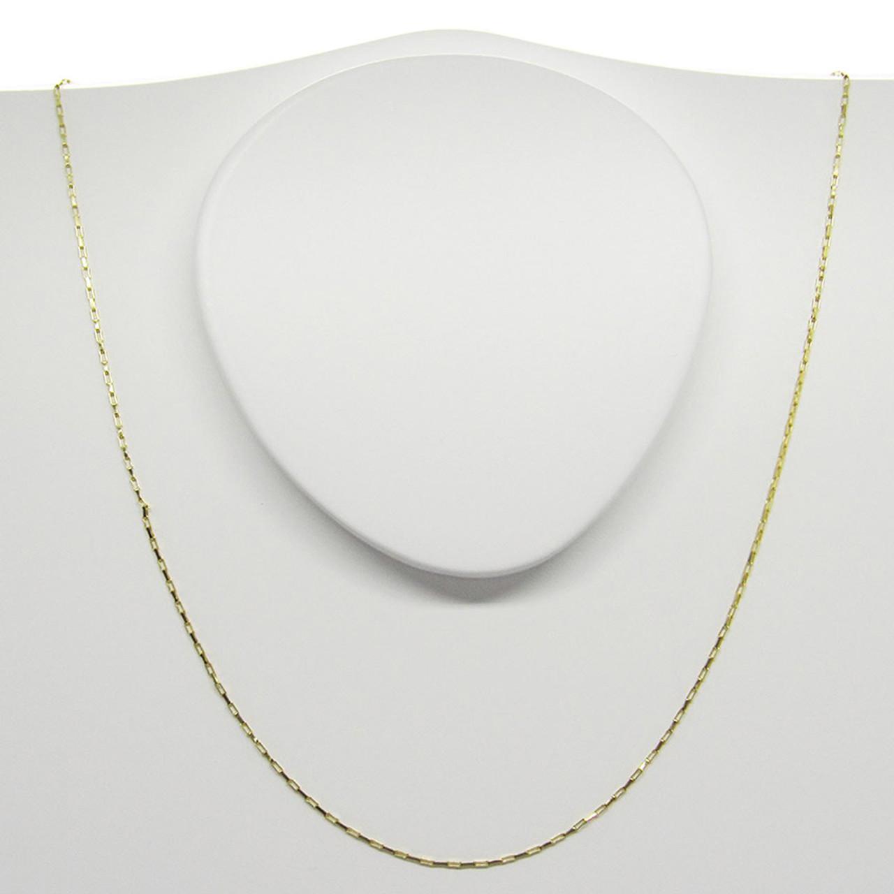 9eaeb24ab6b Corrente de ouro 18k Cartier 0.45mm com 40cm (CJCO-00000117)