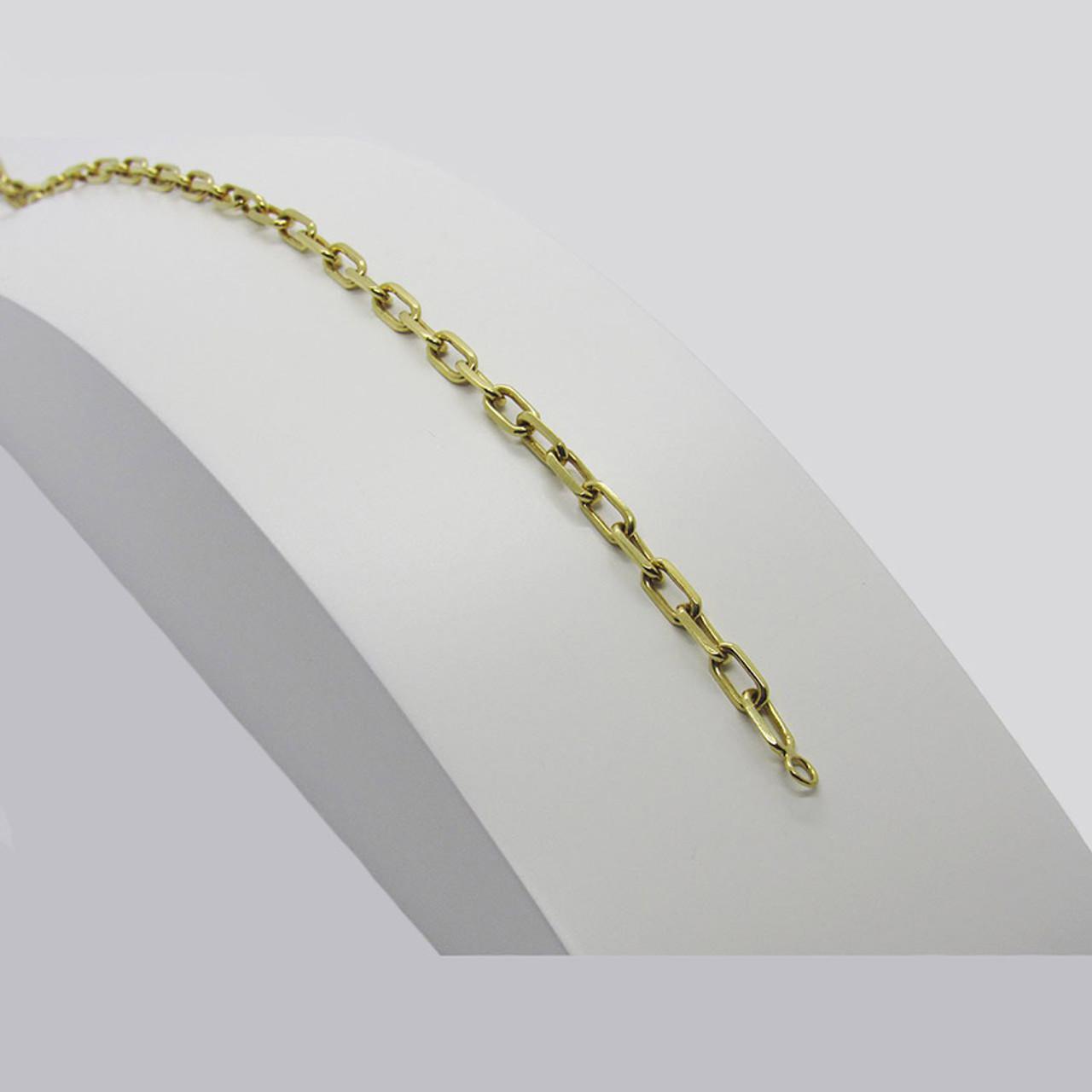 16a13216f1e Pulseira de ouro 18k Cartier Maciça 3.12mm com 18cm (CJPL-00000136)