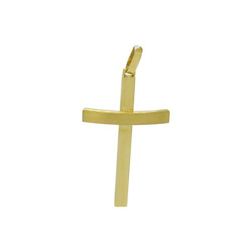 Pingente de ouro 18k cruz 42,20 mm