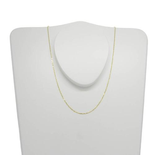 Corrente de ouro 18k cartier 0,9 mm com 40cm