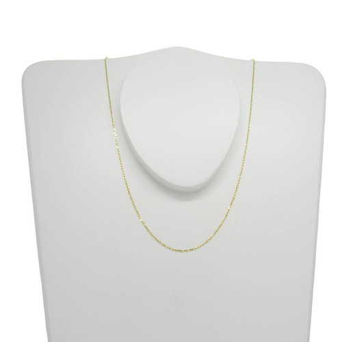 Corrente de ouro 18k cartier 0,9 mm com 50cm