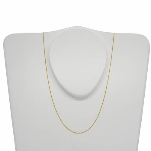 Corrente de ouro 18k cartier 0,9 mm com 45cm