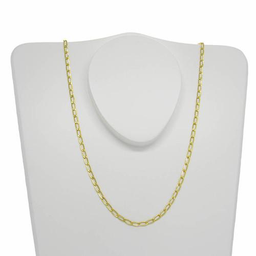 Corrente de ouro 18k isi 3,0 mm com 60cm