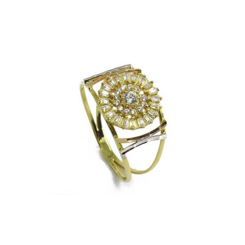 29a70ec9c8d50 Anel de ouro 18k Safira Branca 2,30mm (CJAN-00000194)