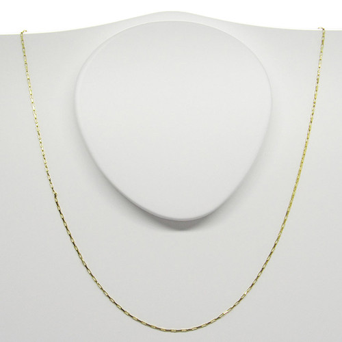 Corrente de ouro 18k cartier 0.45mm com 70cm