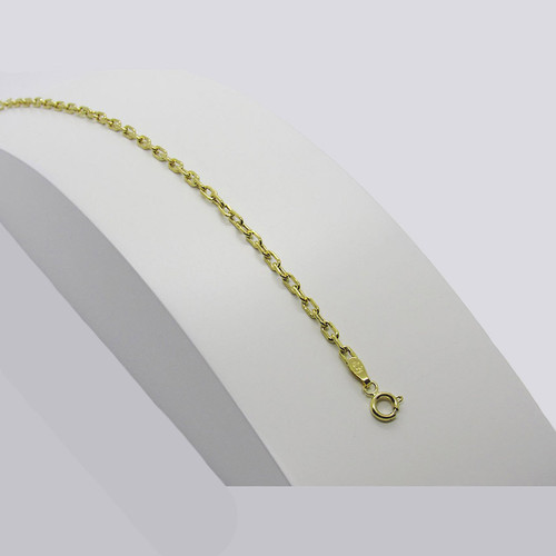 Pulseira de ouro 18k cartier 2.66mm com 20cm