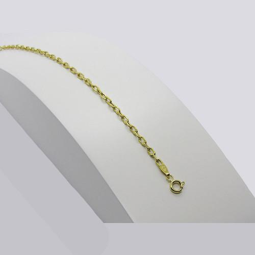 Pulseira de ouro 18k cartier 2.66mm com 22cm