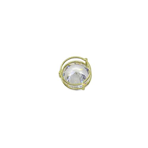 c694c59ab0504 Pingente de ouro 18k Ponto de Luz Redondo 6,33mm (CJPI-00000563)