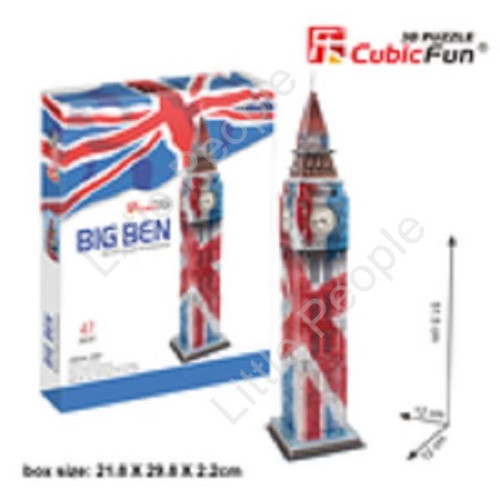 Big Ben 47pc 3D Puzzle C Series NEW FACTORY SEALED
