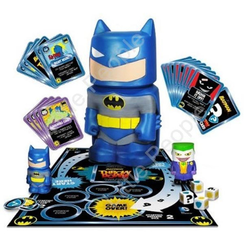 Batman - Throw Down Battle Game fun for the whole family last one