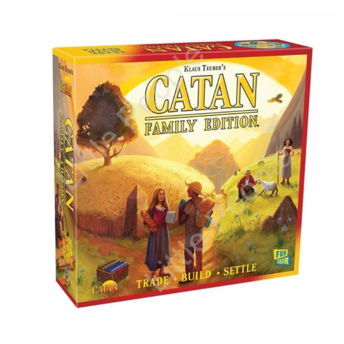 Begin a quest to settle the island of Catan
