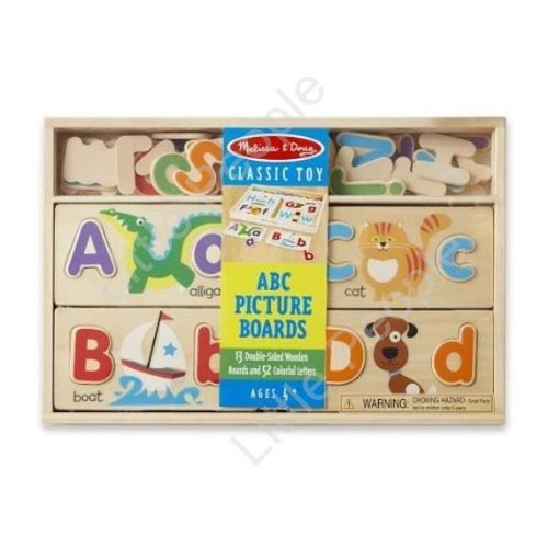 Melissa & Doug ABC Picture Boards - Educational Toy