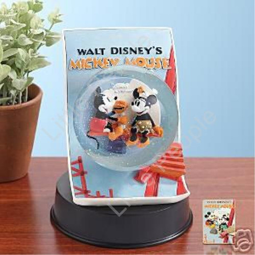 Mickey Mouse Building A Poster Disney Snowglobe LE 500 Pin Release